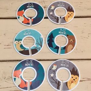 Other - Forest Animal Closet Dividers